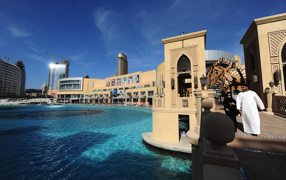 <p><b>12. The Dubai Mall</b></p> <p>Dubai, UAE</p> <p>Gross Leasable Area (GLA): 350,000 sqm</p><p>(Photo by Mike Hewitt/Getty Images)</p>