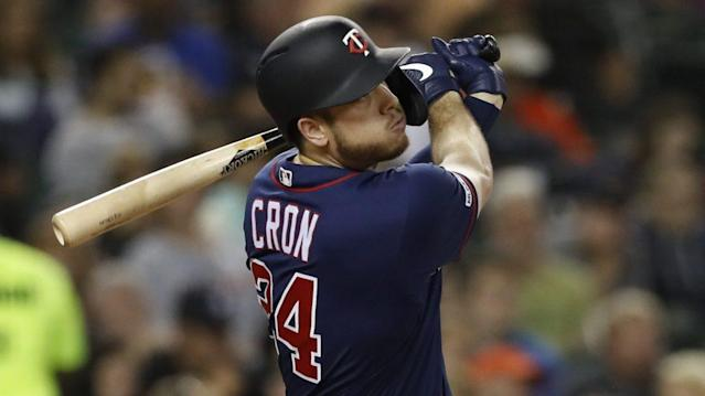 Twins to slow down C.J. Cron as thumb pain lingers