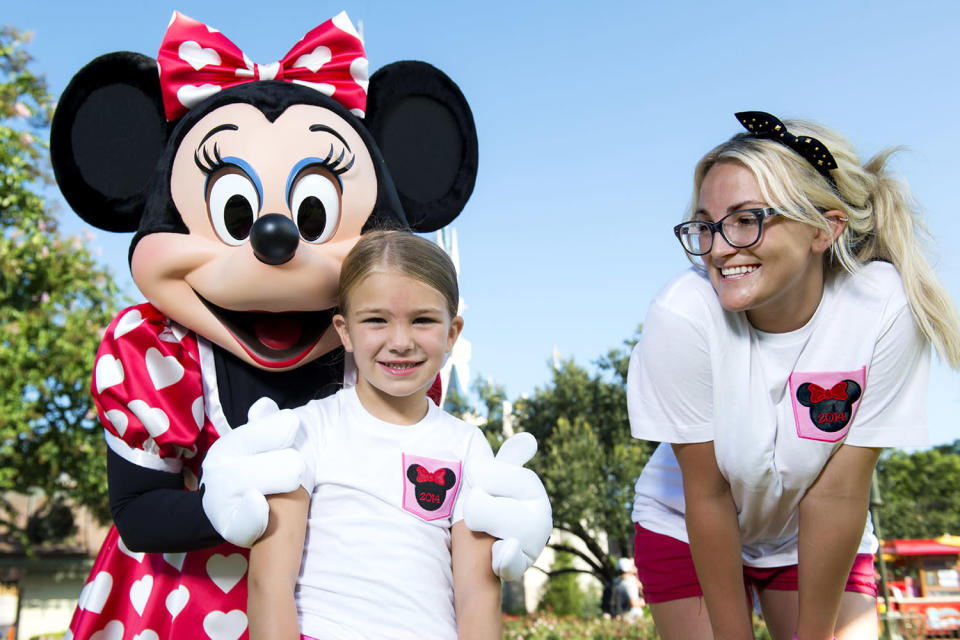 <p>Jamie Lynn Spears became a mom at 17. (Photo by Chloe Rice/Disney Parks via Getty Images) </p>
