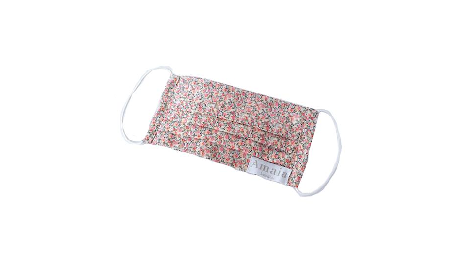 Adult Reusable cotton face mask - Pepper liberty