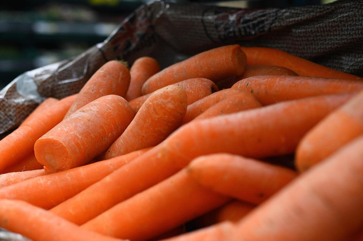<em>Shoppers are reportedly passing off carrots as avocados at self-service tills in order to steal them (Picture: PA)</em>