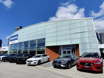 Volvo Car Canada continues to expand with opening of Morrey Volvo Cars Burnaby (CNW Group/Volvo Car Canada Ltd.)