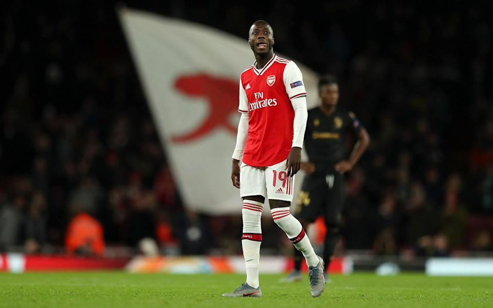 Nicolas Pepe of Arsenal - GETTY IMAGES