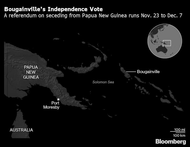 Pacific Island Referendum Could Give the World a Tiny New Country