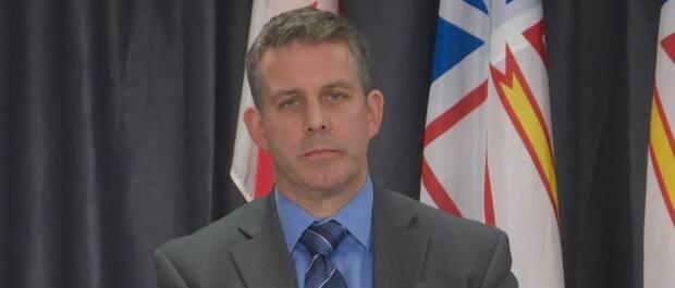 Stephen Clark, CEO of Newfoundland and Labrador's Centre for Health Information, said codes can technically still be shared due to the code the booking website operates on.