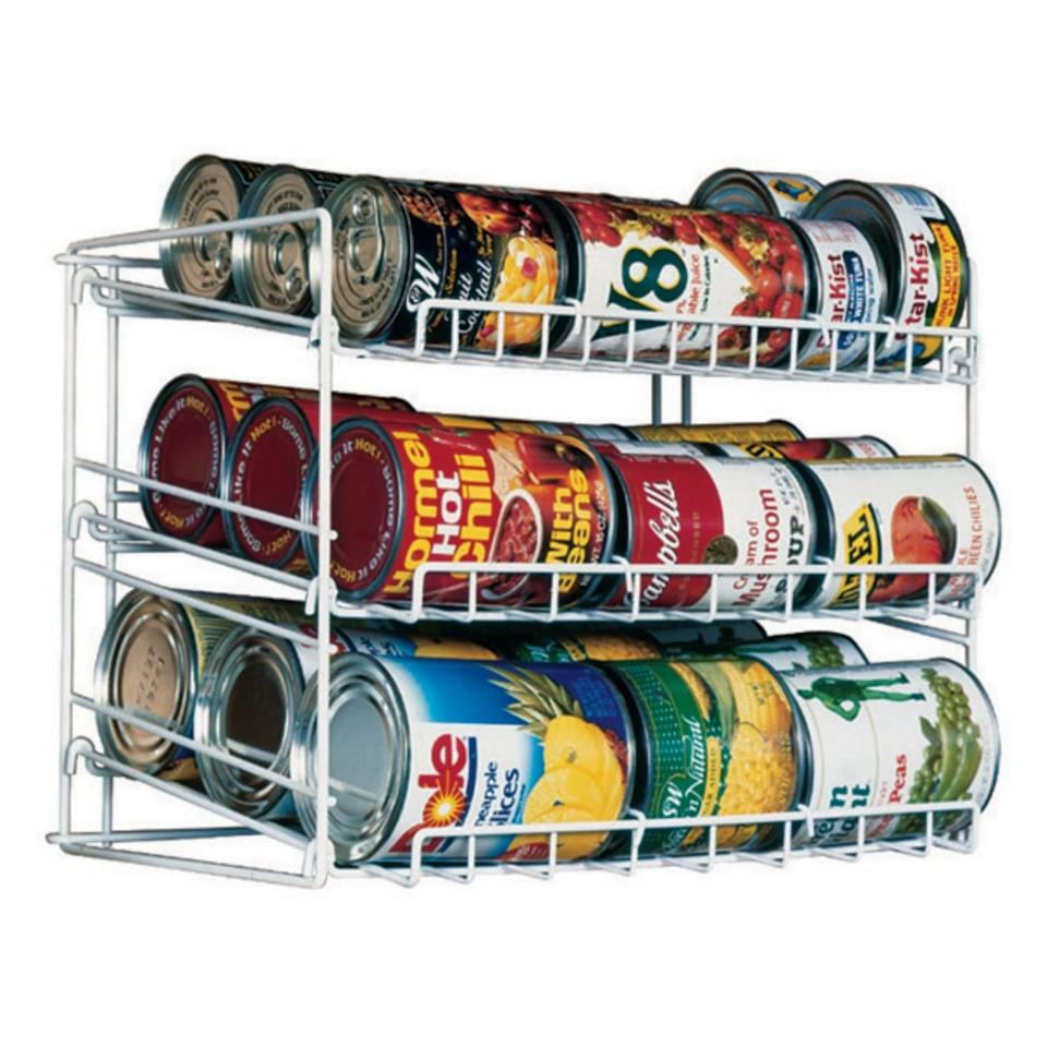 "<p>If you're a big canned soup or vegetable person, pick up the <a href=""https://www.popsugar.com/buy/Atlantic-Kitchen-Storage-Can-Rack-White-472059?p_name=Atlantic%20Kitchen%20Storage%20Can%20Rack%20in%20White&retailer=target.com&pid=472059&price=9&evar1=moms%3Aus&evar9=46418295&evar98=https%3A%2F%2Fwww.popsugar.com%2Ffamily%2Fphoto-gallery%2F46418295%2Fimage%2F46418300%2FAtlantic-Kitchen-Storage-Can-Rack-White&list1=shopping%2Ctarget%2Corganization%2Chome%20shopping&prop13=api&pdata=1"" rel=""nofollow"" data-shoppable-link=""1"" target=""_blank"" class=""ga-track"" data-ga-category=""Related"" data-ga-label=""https://www.target.com/p/atlantic-kitchen-storage-can-rack-white/-/A-53407497"" data-ga-action=""In-Line Links"">Atlantic Kitchen Storage Can Rack in White</a> ($9) for a one-stop shop.</p>"