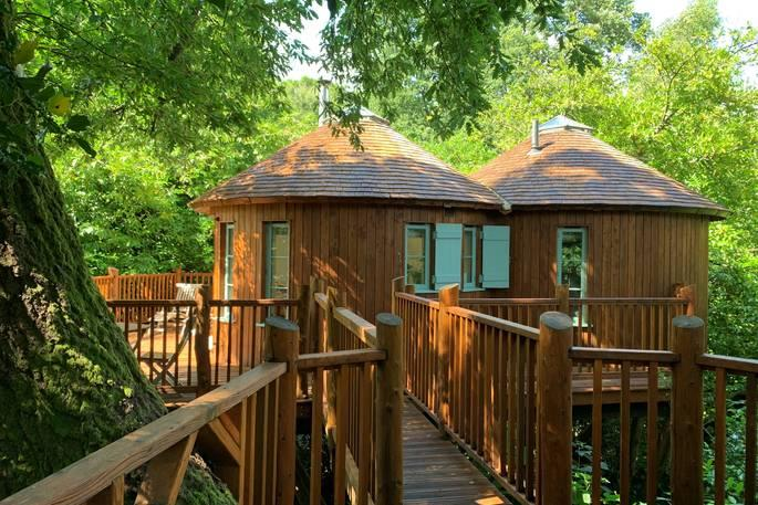 Blissful isolation at Harptree Treehouse - Canopy and Stars