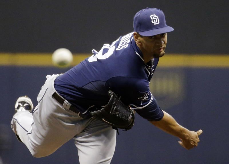 Brewers bats wake up at home to beat Padres 5-2