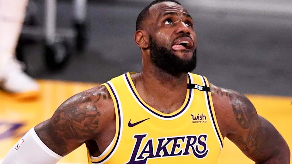 LeBron James and the Lakers were eliminated from the NBA Playoffs by the Phoenix Suns. (Photo by Keith Birmingham/MediaNews Group/Pasadena Star-News via Getty Images)