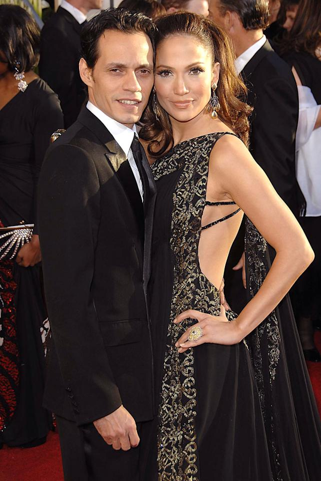 "Their marriage came out of nowhere, but Marc Anthony and Jennifer Lopez seem to be a perfect fit. George Pimentel/<a href=""http://www.wireimage.com"" target=""new"">WireImage.com</a> - January 15, 2007"