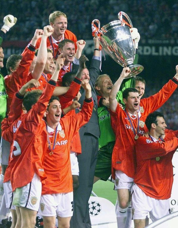 Second but best: When Manchester United beat Bayern in Barcelona in 1999, they became the first winners who had won neither their domestic league nor the Champions League the previous season