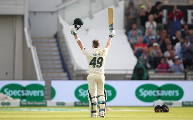 Smith will hope his sensational knock at Edgbaston put to bed a nightmarish 16-month absence from the game. (Photo by Nick Potts/PA Images via Getty Images)