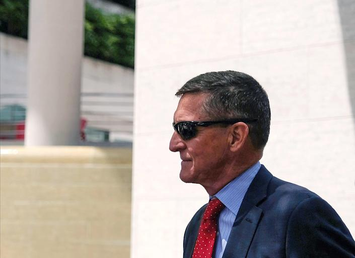 Former Trump national security adviser Michael Flynn has been embroiled in a legal battle with the Justice Department and a federal judge for nearly three years. (Getty Images)