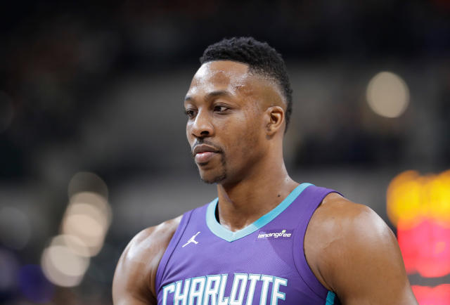 Dwight Howard has played 14 NBA seasons. (AP)