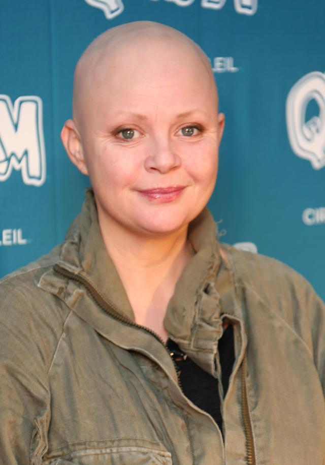 Gail Porter arrives on the red carpet for the opening night of <em>Quidam</em>, performed by Cirque du Soleil, at the Royal Albert Hall in 2014. (Joel Ryan/Invision/AP)