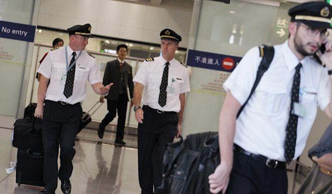 Pay packages for pilots at Cathay Pacific have long been a point of contention that could be building to a head in the depressed business environment. Photo: SCMP