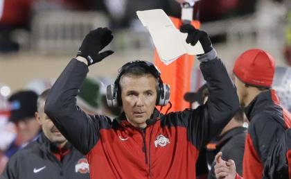 Urban Meyer's Buckeyes face another test this weekend at Minnesota. (AP)