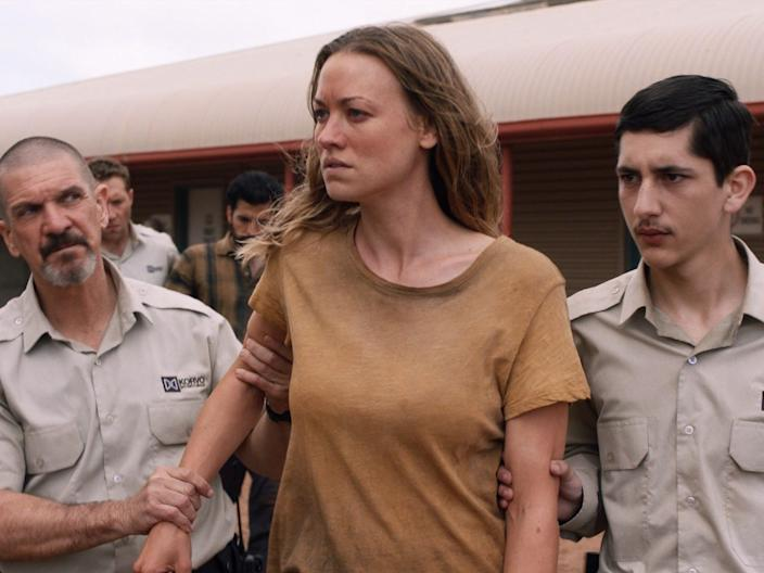 "Yvonne Strahovski costars in ""Stateless."""