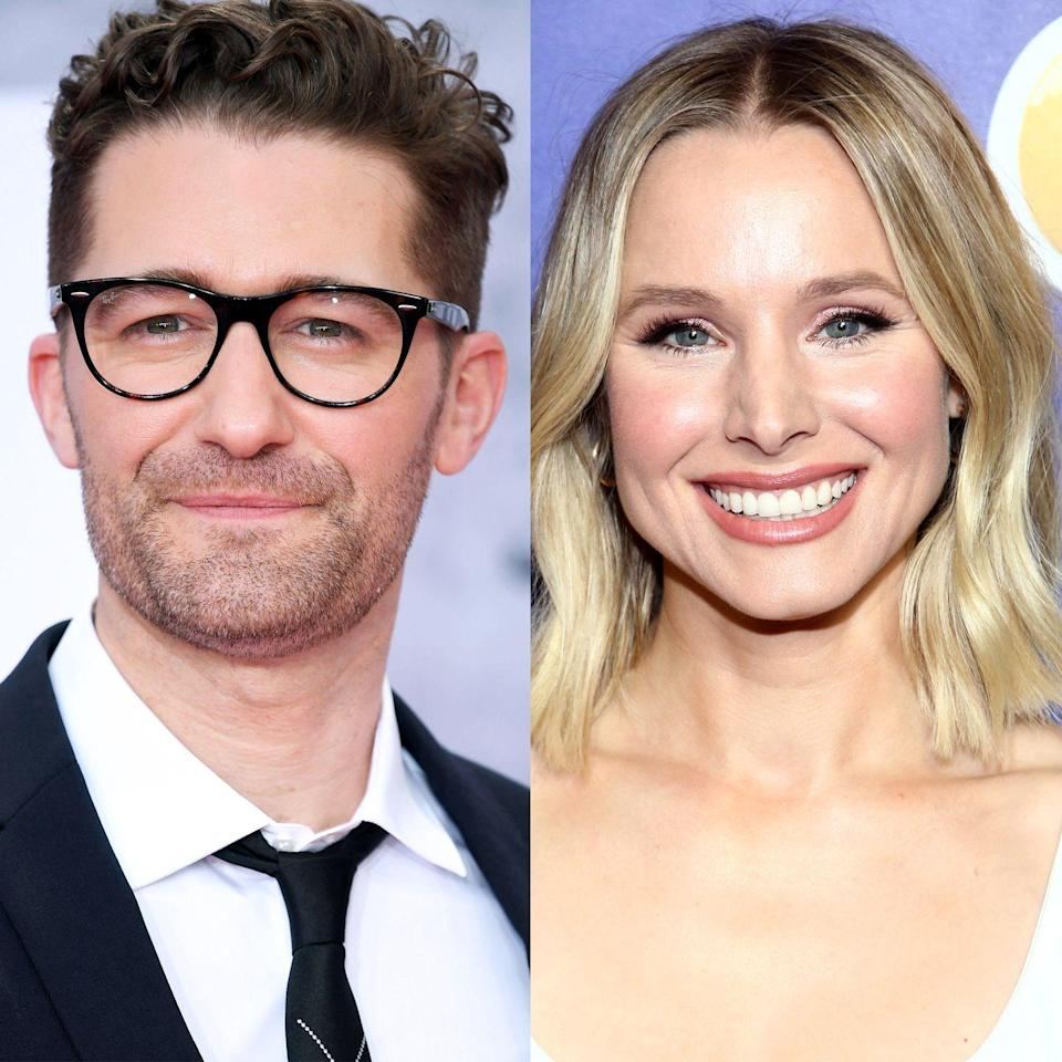 "<p>Like many fans of show choir tunes, Kristen Bell <em>really</em> loved <em>Glee</em>. But her connection to the FOX musical comedy stems from her <a href=""https://www.usmagazine.com/celebrity-body/news/kristen-bell-reveals-she-once-dated-glees-matt-morrison-2010239/"" rel=""nofollow noopener"" target=""_blank"" data-ylk=""slk:relationship"" class=""link rapid-noclick-resp"">relationship </a>with Mr. Will Schuester himself, Matthew Morrison. Not only did the two attend New York University's Tisch School of the Arts together (Morrison later dropped out to star in the Broadway production of 'Footloose'), but Bell and Morrison also briefly dated before they ever made it big!</p>"