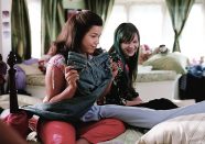 <p>We'd be remiss not to mention <em>The Sisterhood of the Traveling Pants</em>, since the whole storyline revolves around a pair mid-rise and mid-'00s jeans. The scene when America Ferrera starts believing in the power of the pants will give you, and anyone who's every shared clothes with friends, the chills. </p>