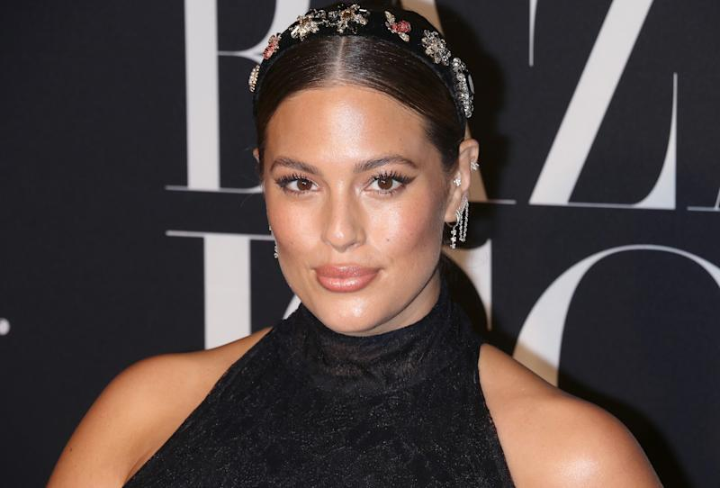 Ashley Graham has been posting very real photos of motherhood since her son was born in January. (Jim Spellman/WireImage)
