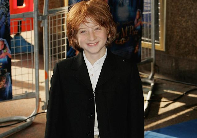 Raphael Coleman at the premiere of <em>Nanny McPhee</em> in 2005. The actor and climate activist has died aged 25. (Getty Images)