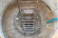 <p>In Cambodia's Koh Rong Samloem, you'll be rewarded with some beautiful water views after scaling these ladders.</p>