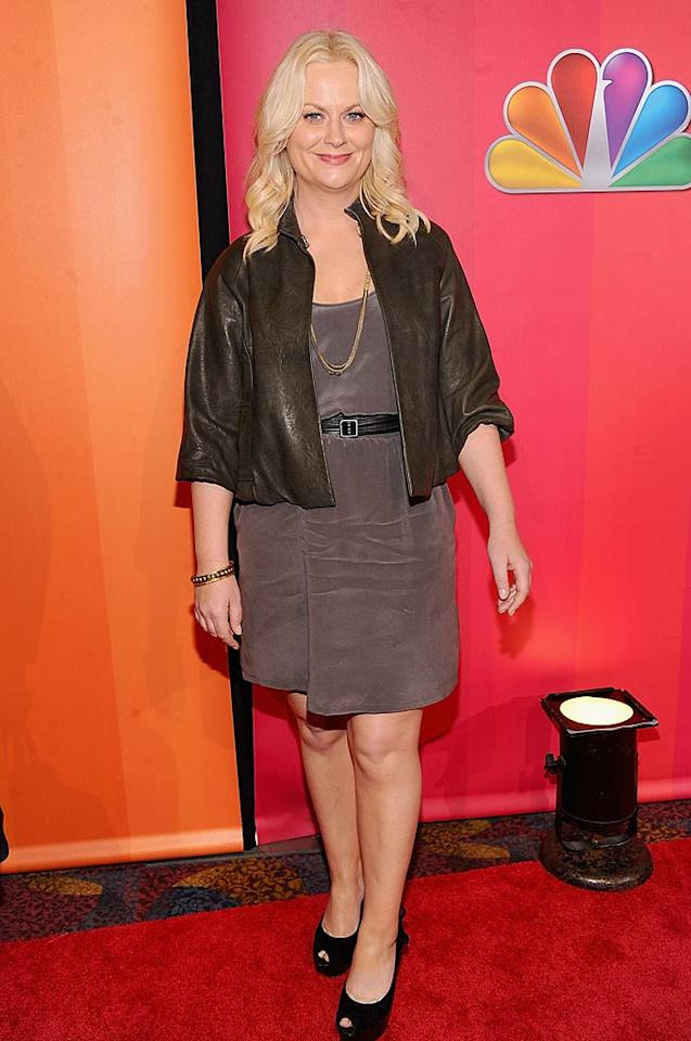 """Fey's fellow former """"SNL""""er Amy Poehler -- better known these days as Leslie Knope on """"Parks & Recreation"""" -- also attended the event. Jamie McCarthy/<a href=""""http://www.wireimage.com"""" target=""""new"""">WireImage.com</a> - May 16, 2011"""