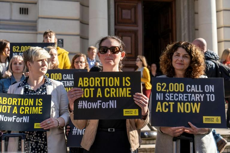 Celebrations are expected in the province to herald the change in the abortion law, while opponents are expected to protest (AFP Photo/Niklas HALLE'N)
