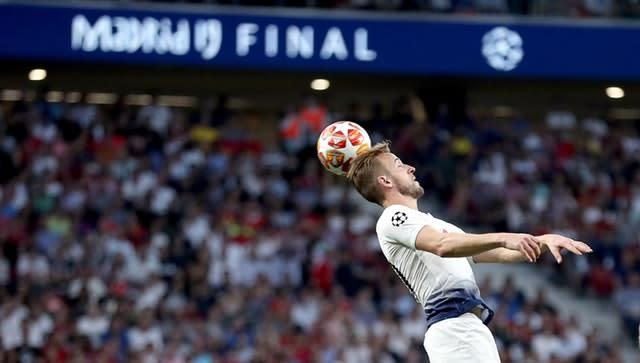 Harry Kane returned from injury to play in the 2019 Champions League final (Martin Rickett/PA)