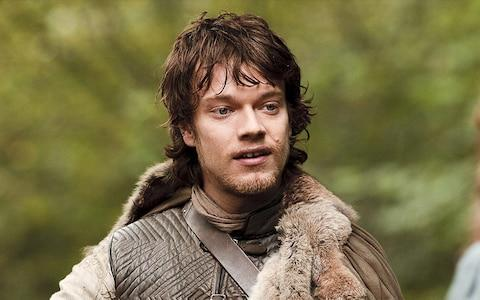 Alfie Allen as Theon Greyjoy in Game of Thrones - Credit: HBO