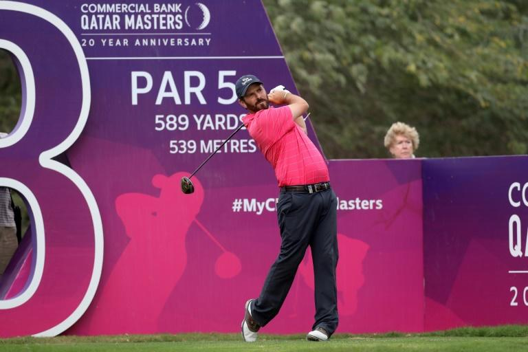 South Africa's Thomas Aiken, pictured here during the Qatar Masters, carded halves of 31 and unleashed a birdie blitz at the Tswane Open