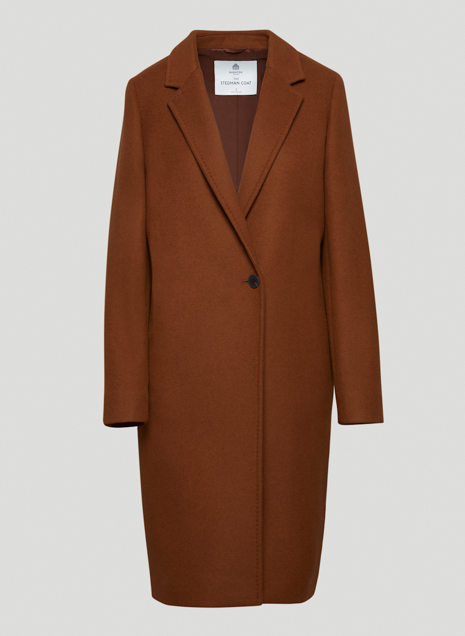 """<h2>Aritzia The Stedman Coat</h2><br>""""I think a camel coat is one of the chicest, most versatile outerwear pieces because of its neutral color — but it has to be a proper trench length, and not cropped like a pea coat. It inevitably becomes my most worn piece throughout fall. This year, I'd like to give my tattered older style an upgrade! But I have a few rules for the new coat: It absolutely has to be wool, the bottom hem has to hit below my knees, and it needs to be slightly oversized to accommodate for thick knits."""" <em>– Jinnie Lee, Freelance Fashion Writer</em><br><br><em>Shop <a href=""""http://aritzia.com"""" rel=""""nofollow noopener"""" target=""""_blank"""" data-ylk=""""slk:Aritzia"""" class=""""link rapid-noclick-resp"""">Aritzia</a></em><br><br><strong>Aritzia</strong> The Stedman Coat, $, available at <a href=""""https://go.skimresources.com/?id=30283X879131&url=https%3A%2F%2Fwww.aritzia.com%2Fus%2Fen%2Fproduct%2Fthe-stedman-coat%2F90429.html%3Fdwvar_90429_color%3D16976"""" rel=""""nofollow noopener"""" target=""""_blank"""" data-ylk=""""slk:Aritzia"""" class=""""link rapid-noclick-resp"""">Aritzia</a>"""