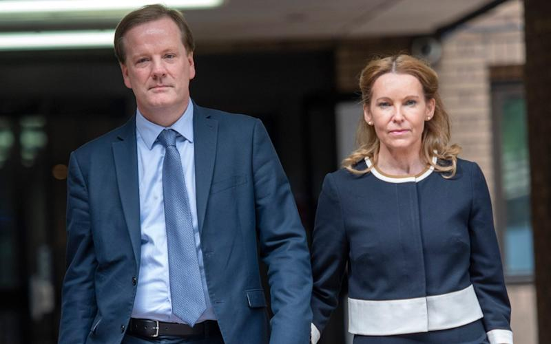Elphicke and his wife at Southwark Crown Court - Paul Grover/Paul Grover