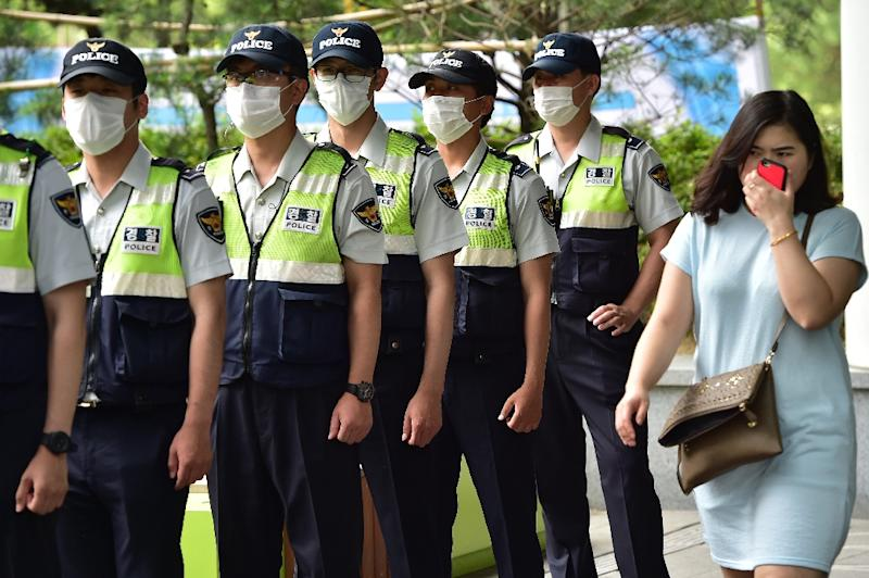 The number of those to have been infected by MERS remain unchanged at 182, South Korea's health ministry says