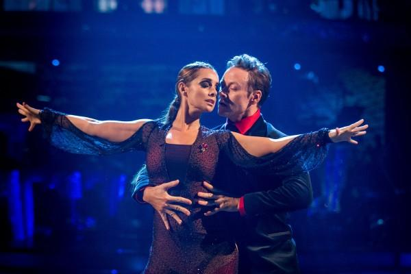 Louise Redknapp says the time on Strictly helped to clear her mind. (AP)