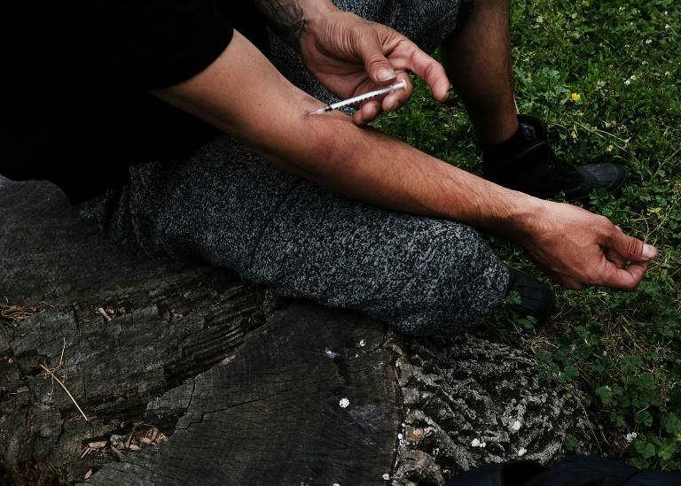 The opioid crisis, which includes drugs such as heroin, seen here, has caused about half a million deaths in the United States since 1999