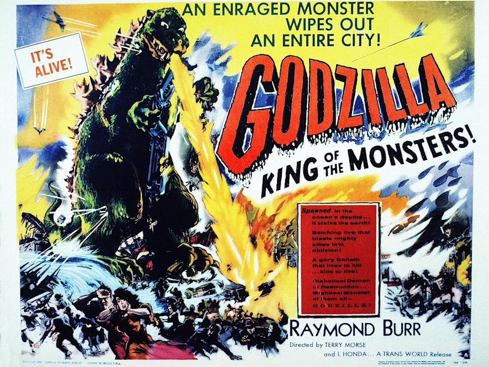 Poster for 1954's Godzilla: King of the MonstersRex