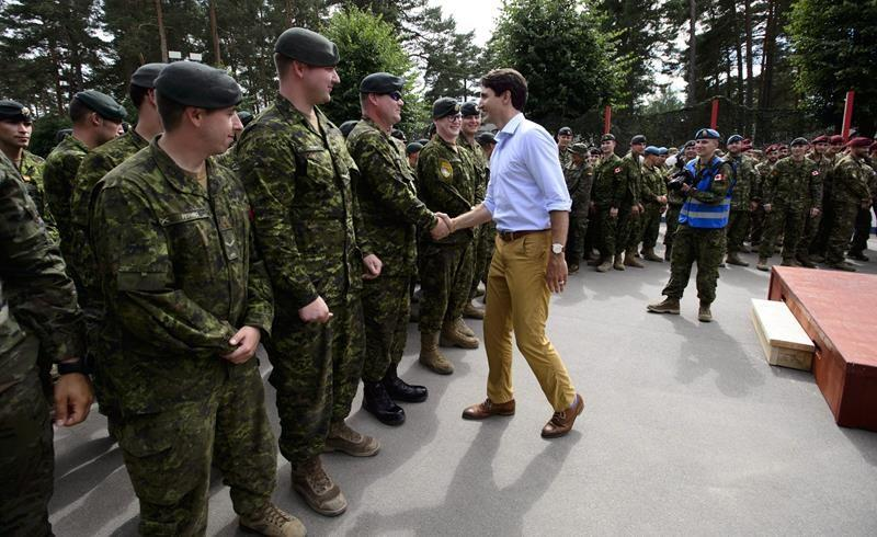 Canada asks British military for help flying troops to and from Latvia