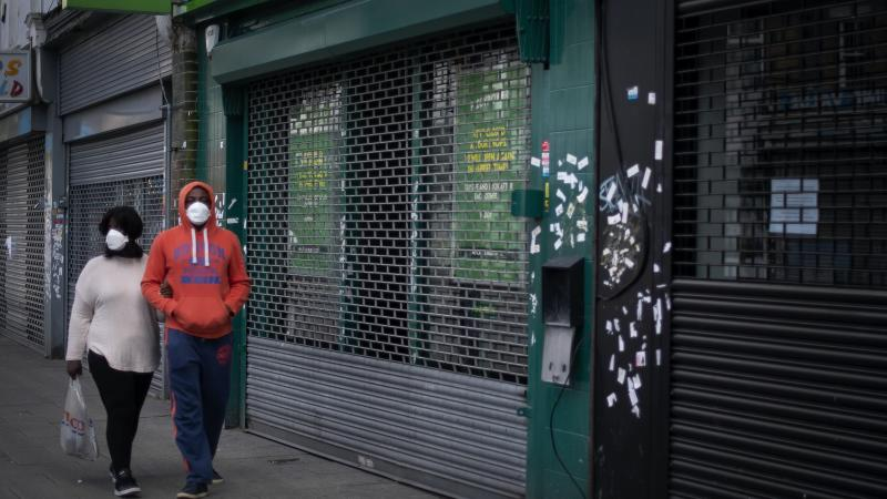 UK to plunge into recession after lockdown sees record contraction