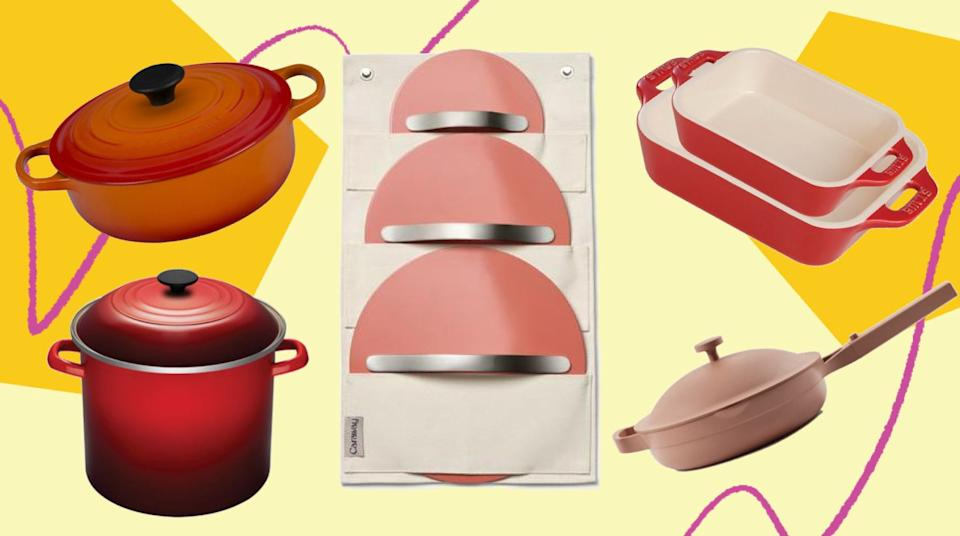To make mealtime easier on you, these are the best Black Friday deals on cookware we've seen so far.  (Photo: HuffPost)
