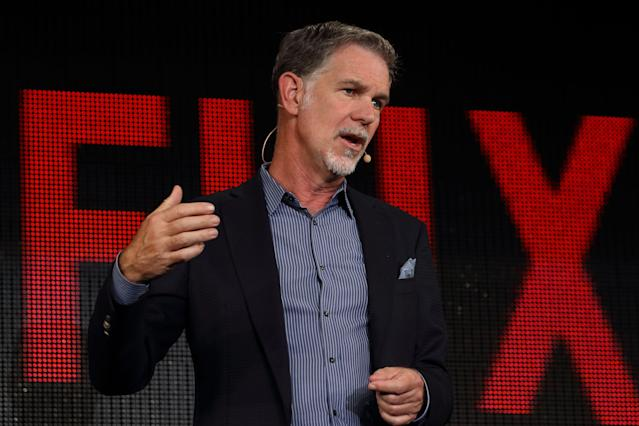 Netflix CEO Reed Hastings briefly addressed the data privacy concerns raised over the last month regarding the tech industry.