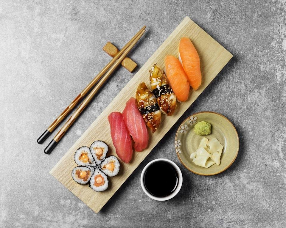 """<p>Another innovative food waste app, this time putting restaurants with unsold food, like Yo Sushi and Chopp'd, in touch with hungry customers on a budget. </p><p>All you have to do is download, search for a business nearby and pay through the app before picking up your dish. A cheap and delicious lunch that also helps save the planet? Win win.</p><p><a rel=""""nofollow noopener"""" href=""""https://toogoodtogo.co.uk/en-gb"""" target=""""_blank"""" data-ylk=""""slk:DOWNLOAD NOW"""" class=""""link rapid-noclick-resp"""">DOWNLOAD NOW </a></p>"""