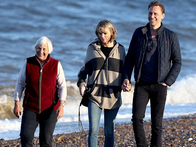 Taylor Swift Meets Tom Hiddleston's Mom on Sunny Trip to England