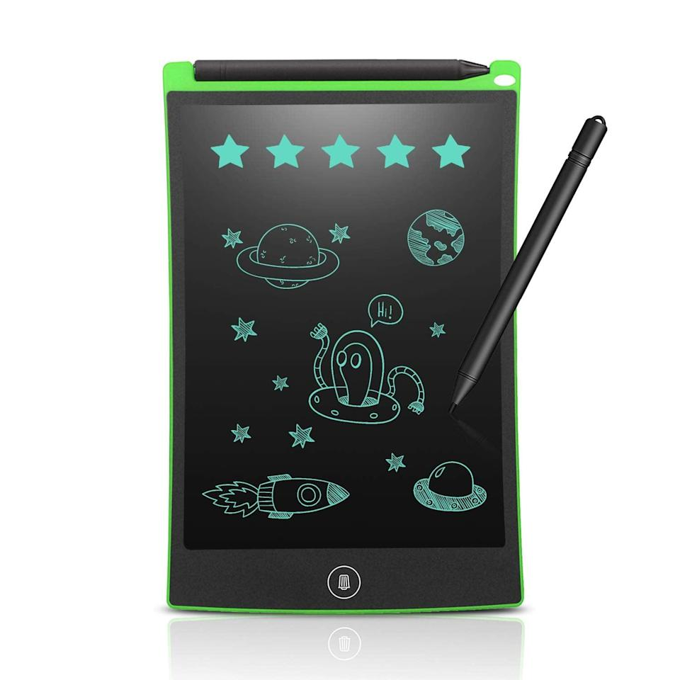 <p>Write, draw, and doodle on this <span>LCD Writing Tablet</span> ($9).</p>