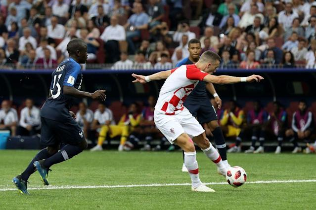 The Inter Milan man netted a screamer just prior to the half-hour mark to get Croatia back on level terms.