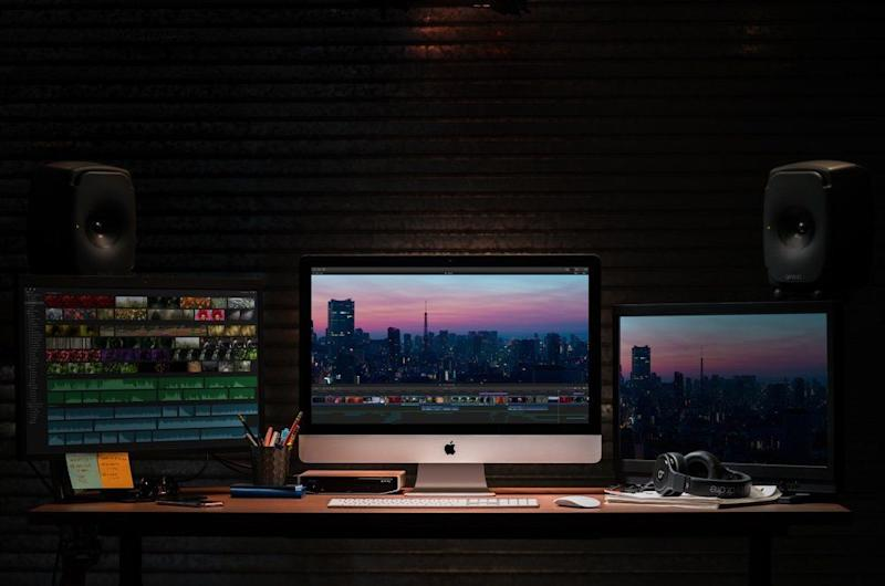The iMac can be used as a standard at home desktop or video and photo editing powerhouse. (Image: Apple)