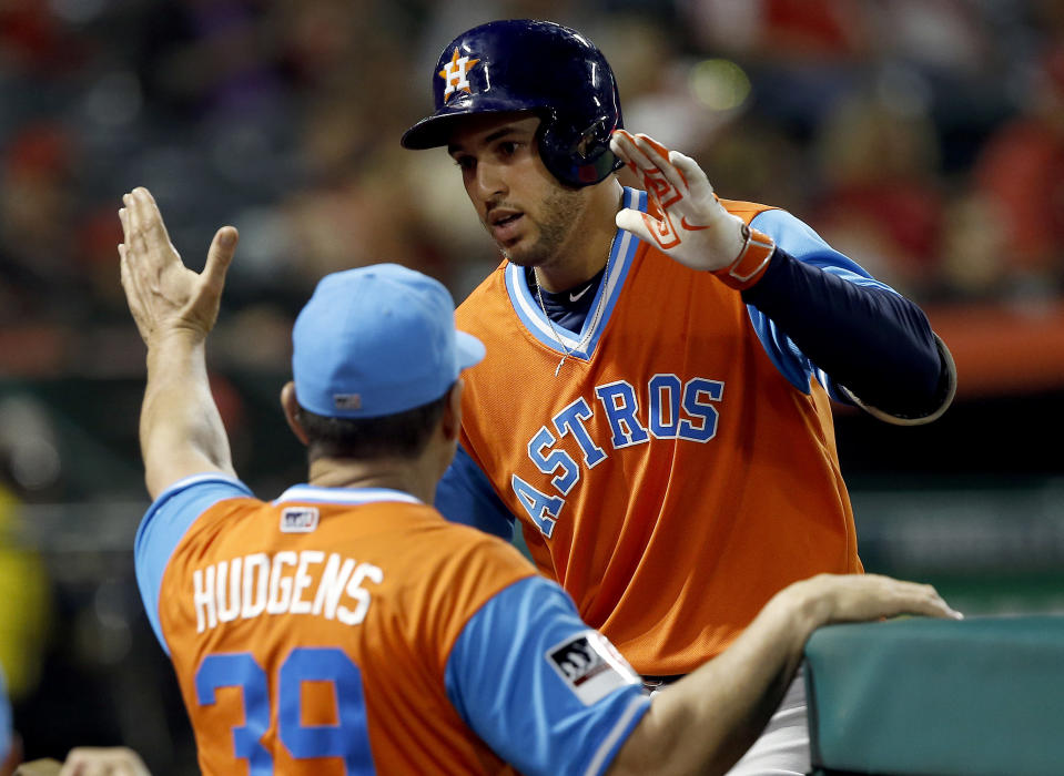 The Astros return to Minute Maid Park on Saturday. (AP)