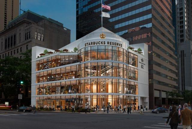 World's largest Starbucks store to open in Chicago