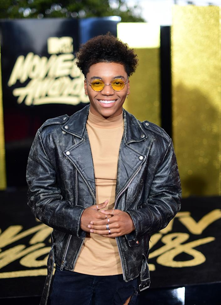 Singer Josh Levi attends the 2017 MTV Movie And TV Awards at The Shrine Auditorium on May 7, 2017 in Los Angeles, California.